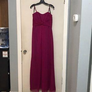 Pink formal long dress